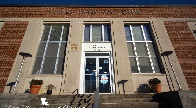 United States Post Office | Leesville, Louisiana